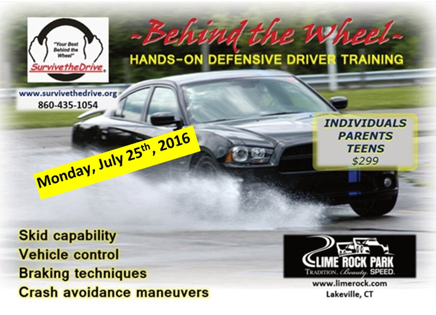 CT State Police Joining Survive The Drive For A Car 'Crash-Preventive' Clinic