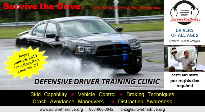 Behind The Wheel – Defensive Driver Training Clinic – Friday, June 28th 2019